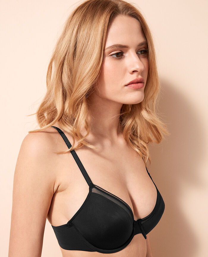 Underwired bra Black Make up
