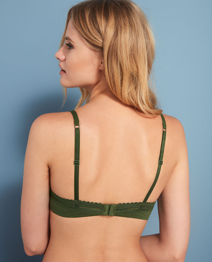 Progressive-cup push-up bra Agency green Beaute