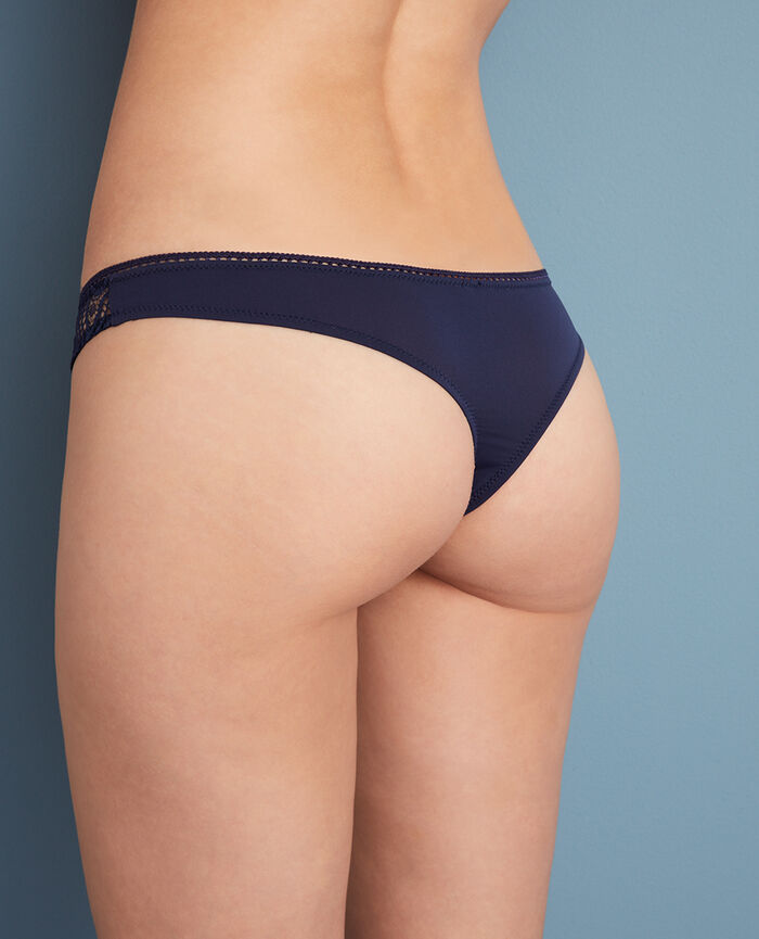 Thong Manhattan blue Boheme