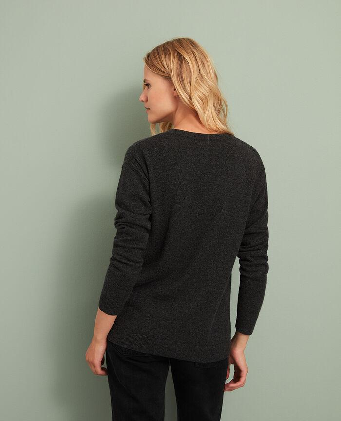 Pullover Anthrazit COZY