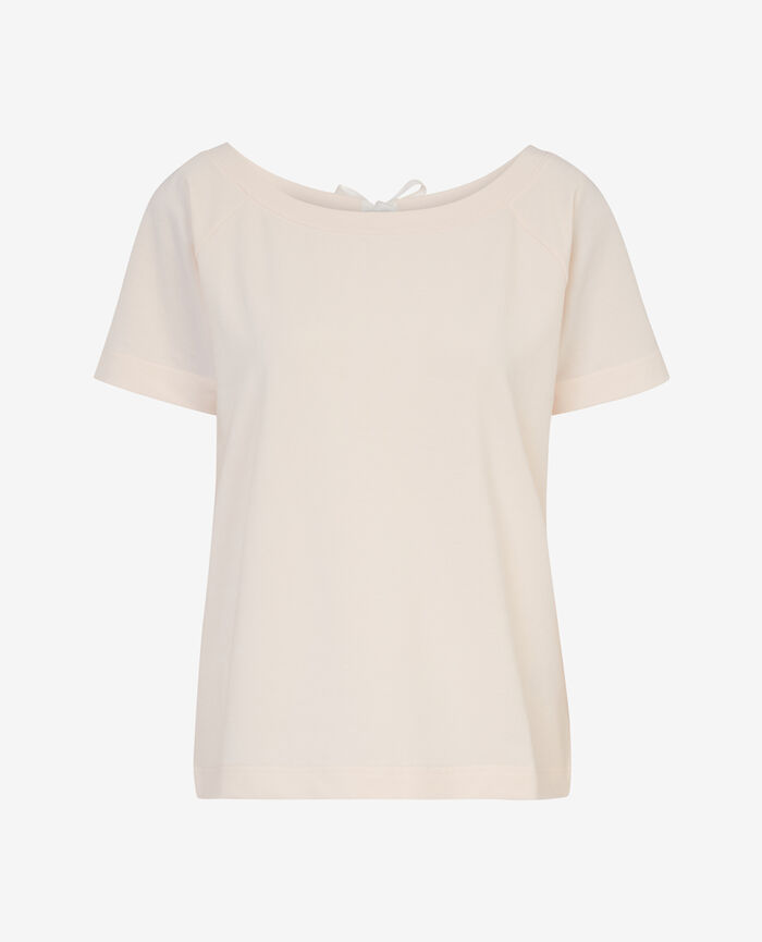 Kurzärmliges T-Shirt Weiß rosé AIR LOUNGEWEAR