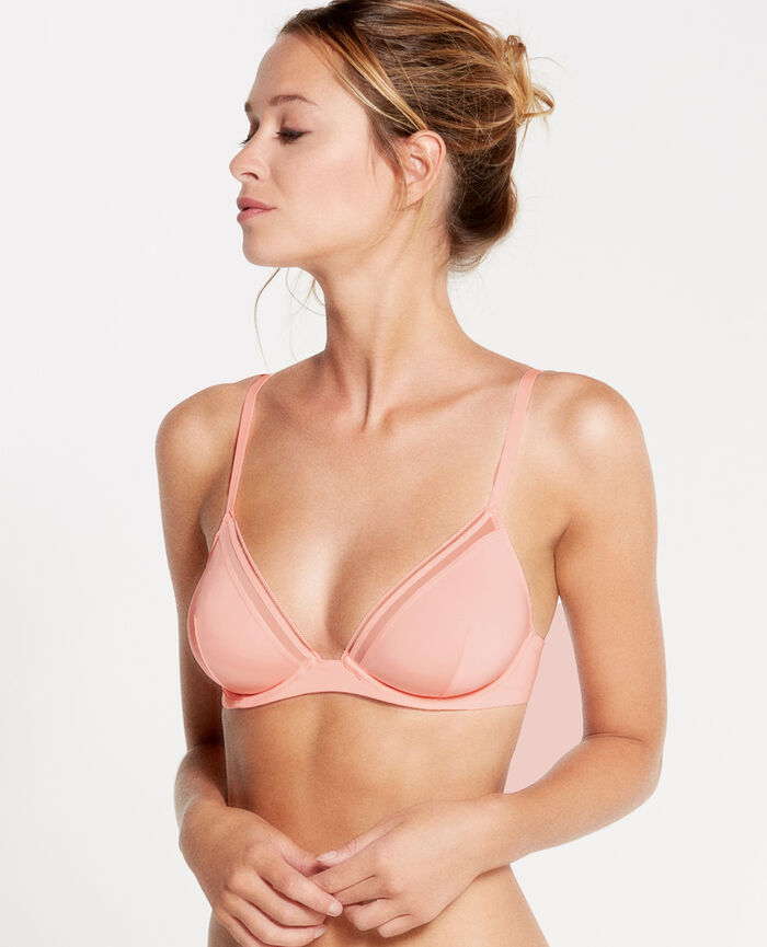 MAKE UP Orange magic Soutien-gorge triangle mini-wire
