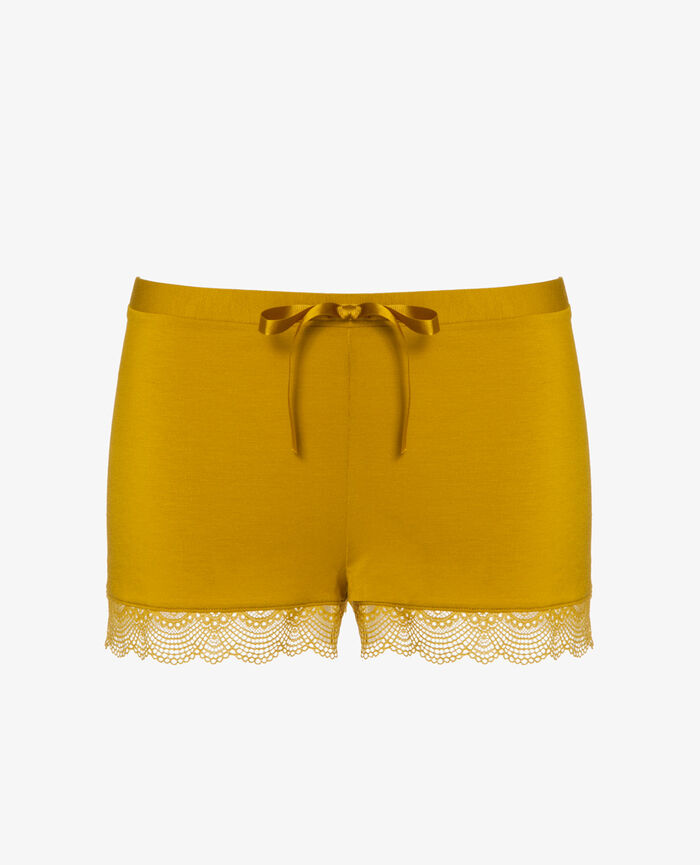 Boxer short Jaune pickles Flora