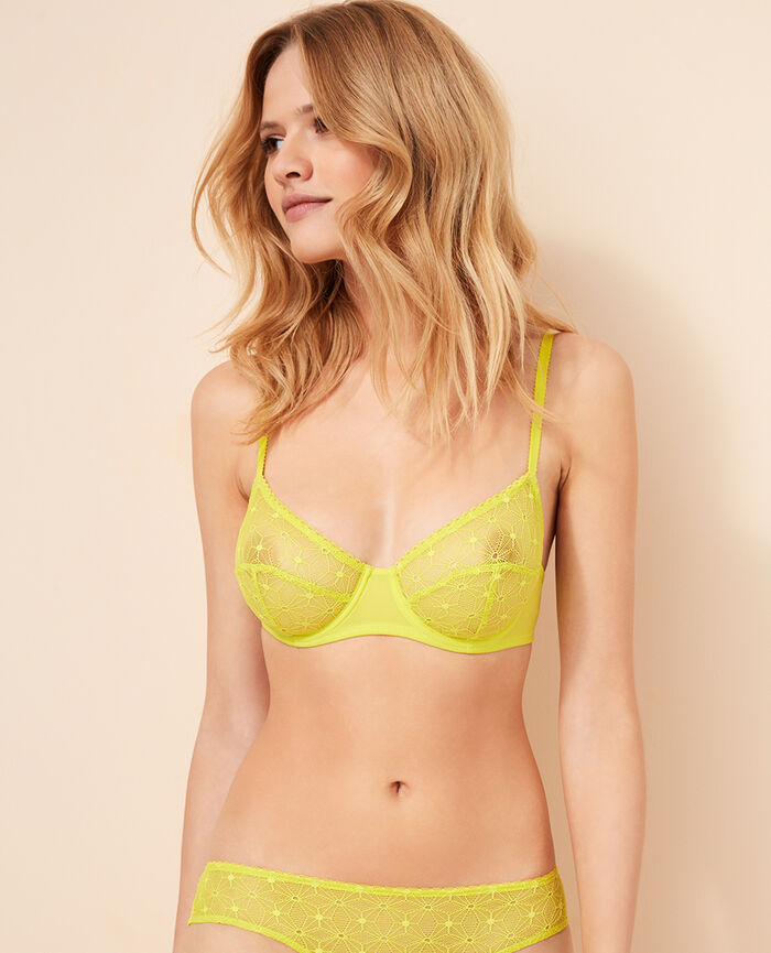 Underwired bra Sunset yellow Voodoo