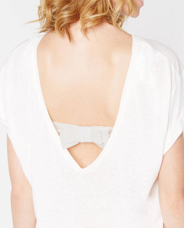 EMMA Elfenbeinfarben BH-Rückenschleife