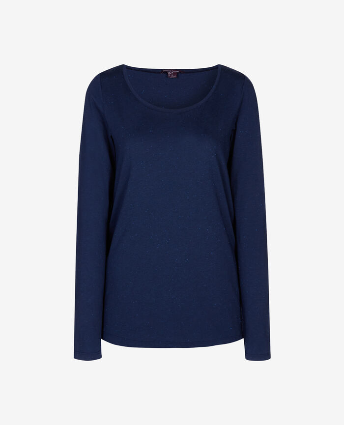 LASER Bleu abysse T-shirt manches longues
