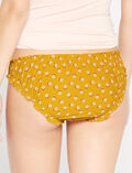 TAKE AWAY Yellow polka dot Printed briefs