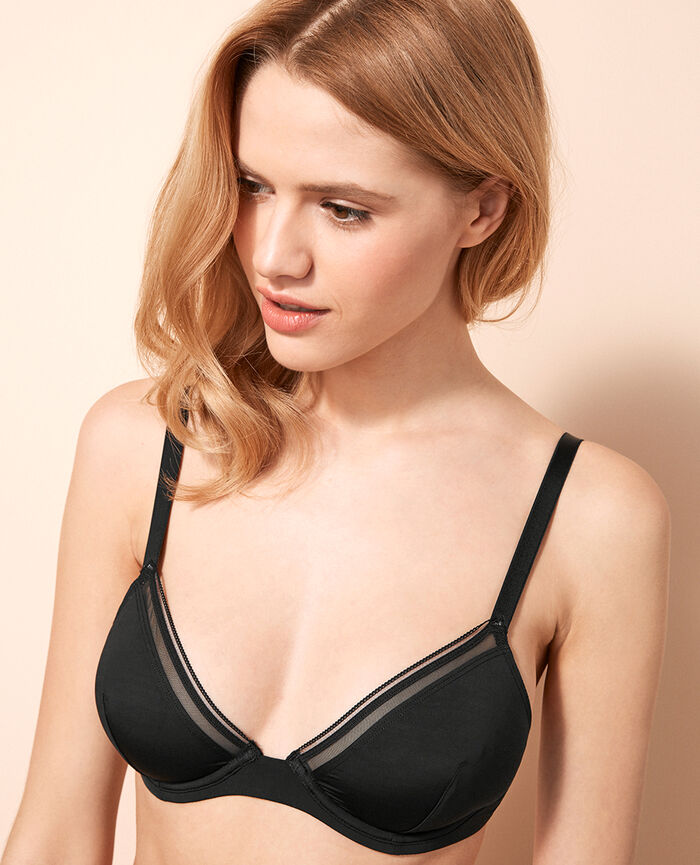 Soutien-gorge triangle mini-wire Noir Make up