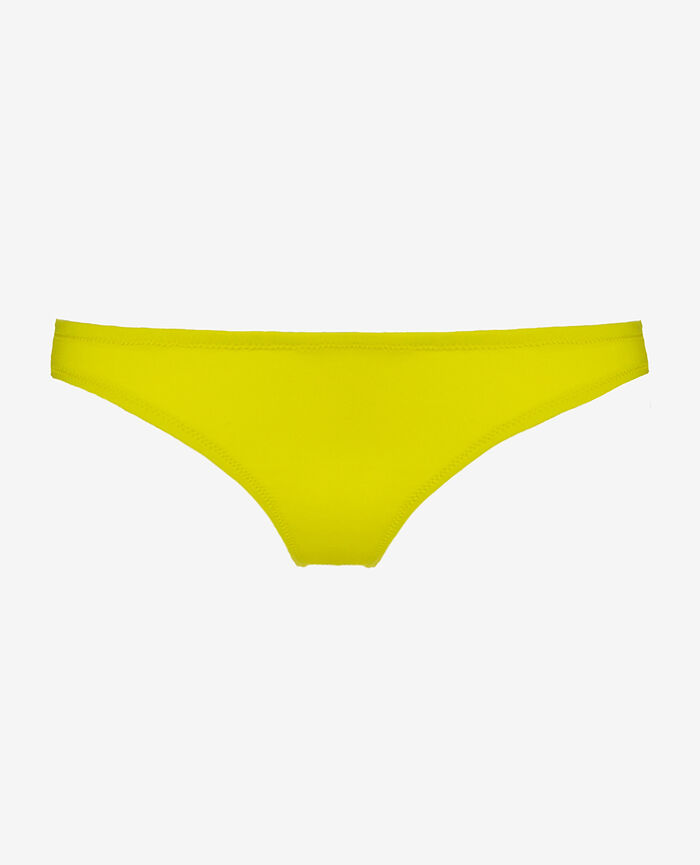 High-cut bikini briefs Sunset yellow Match