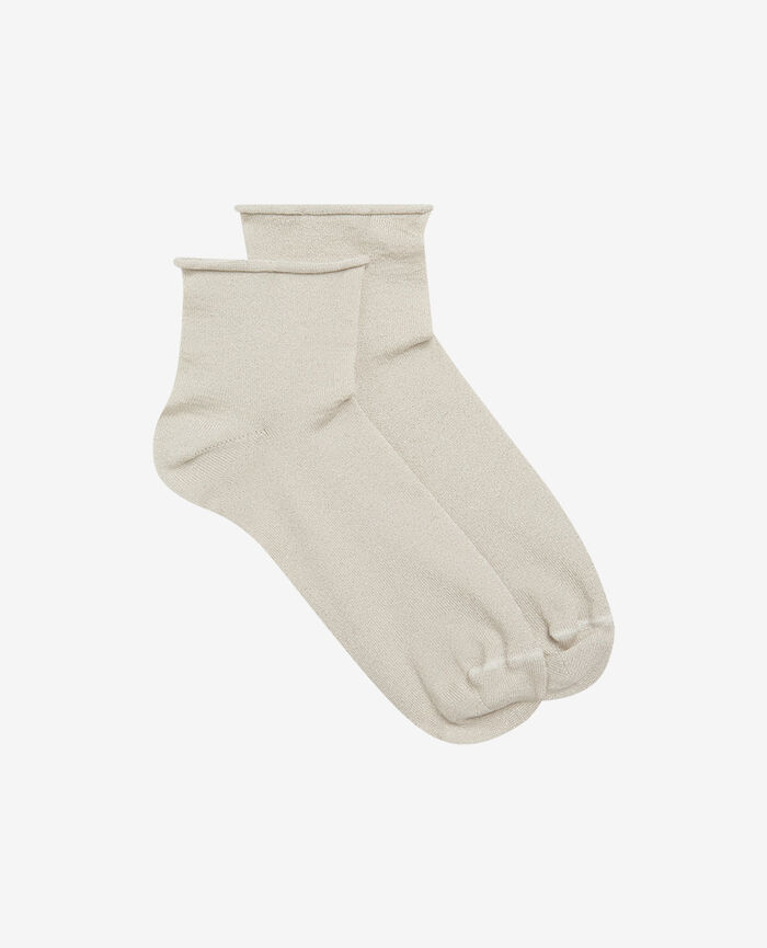 Chaussettes Beige Pearl