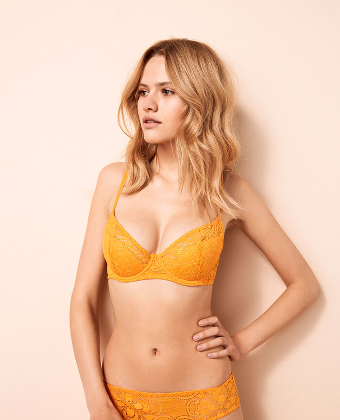 Demi push-up bra Banana yellow Evasion