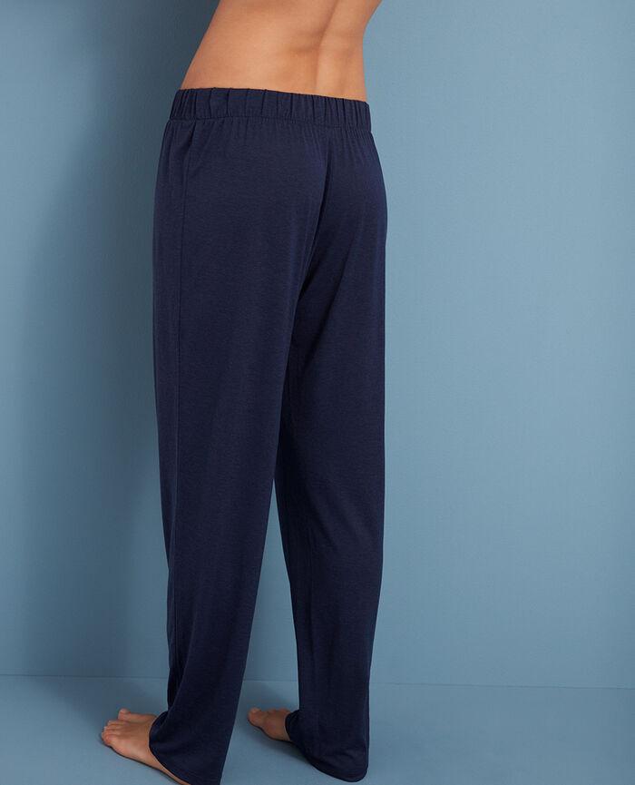 Pantalon Bleu marine Latte