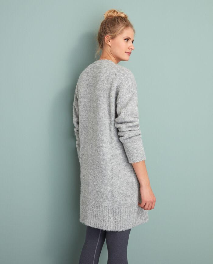Long bathrobe Grey Loop
