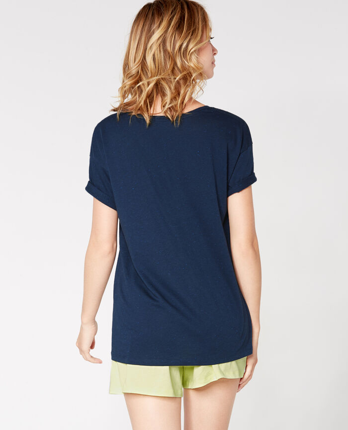 LASER Abyss blue Short-sleeved t-shirt