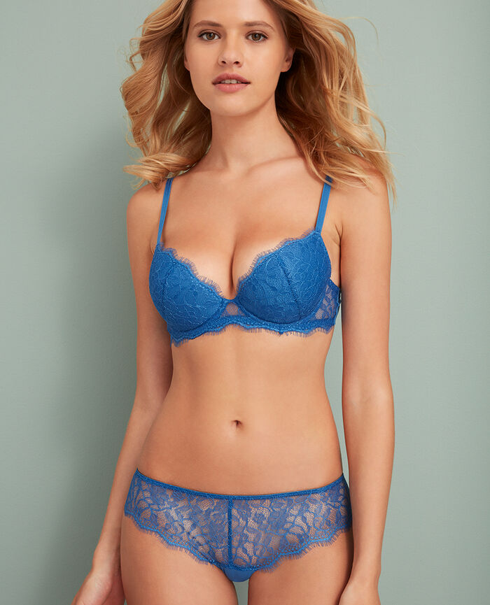 Soutien-gorge push-up mousses Bleu river Taylor
