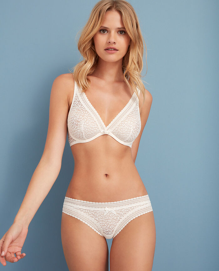 Brazilian briefs Rose white Belle
