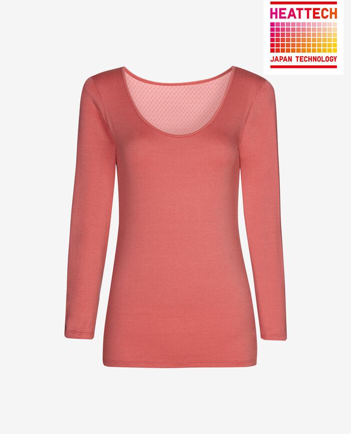 INNERWEAR Hot pink 7/8 sleeved top