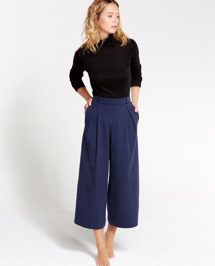 NEPTUNE Bleu abysse Pantalon gaucho