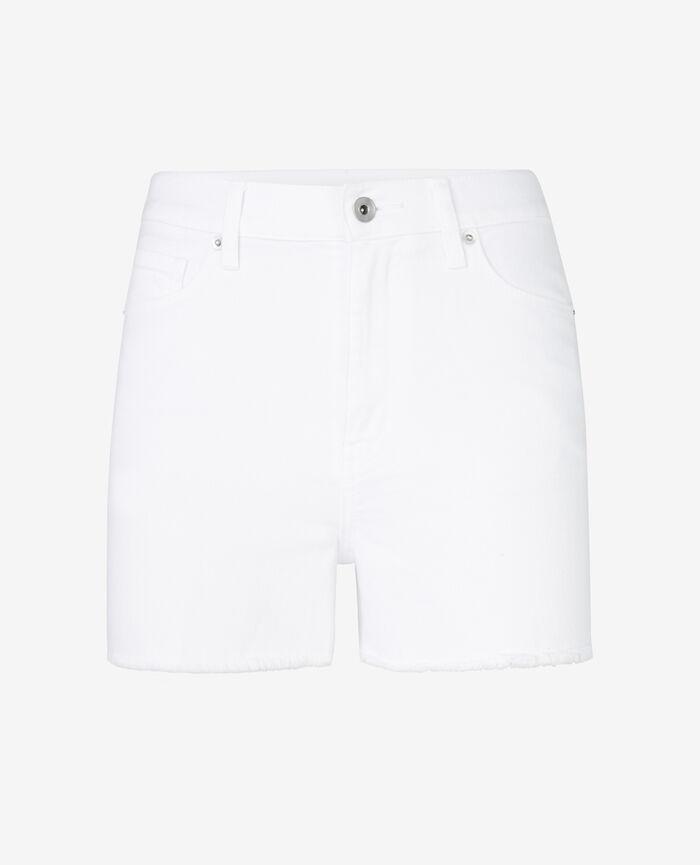 Shorts White Jean