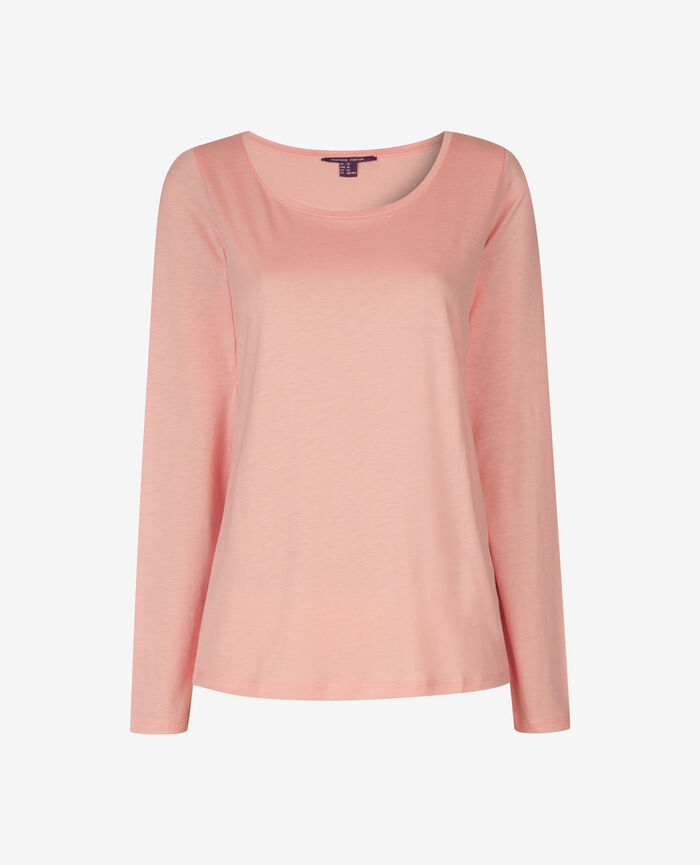 Long-sleeved t-shirt Pink cloud Emy