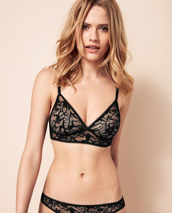 Soft cup bra Black Monkeys