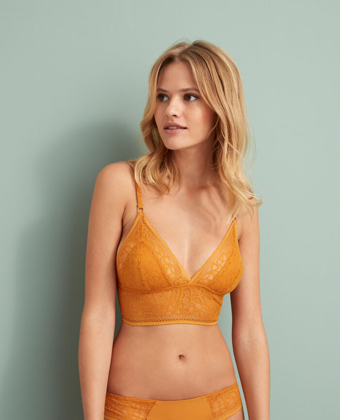 Soft cup bra Taxi yellow Manhattan