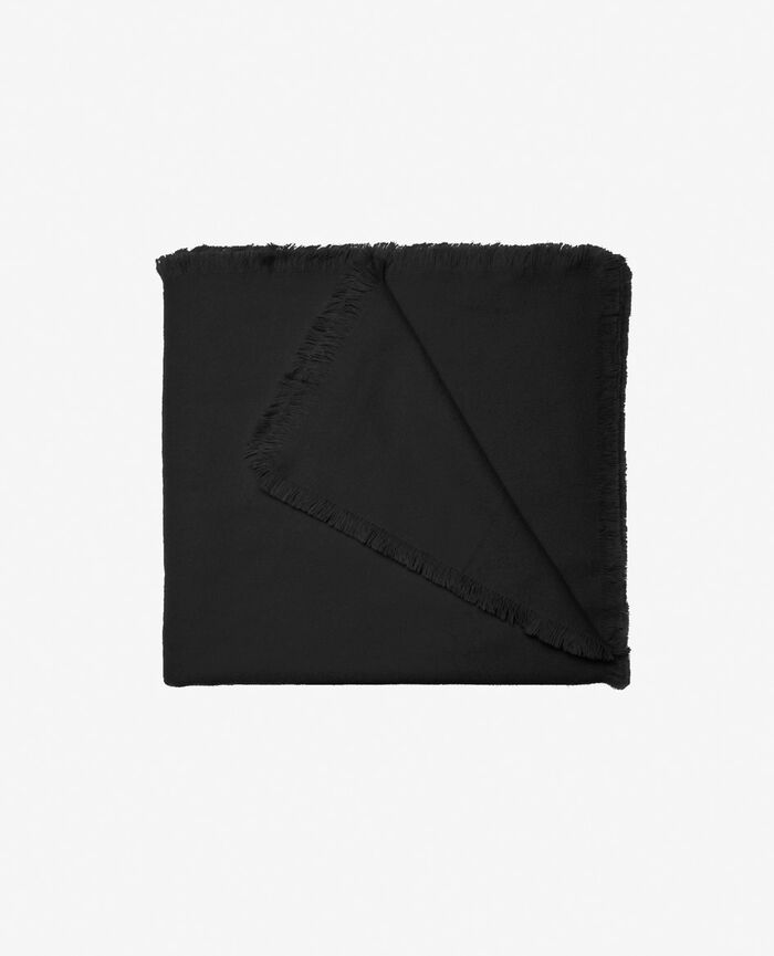 Scarf Black Soft