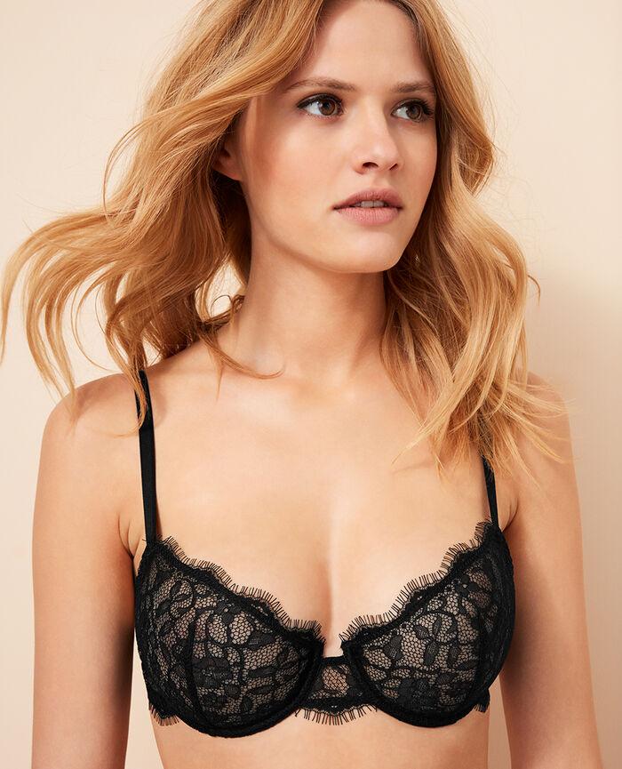 Half-cup bra Black Taylor