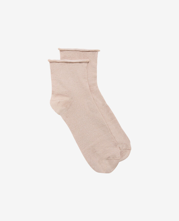PEARL Rose gold Chaussettes