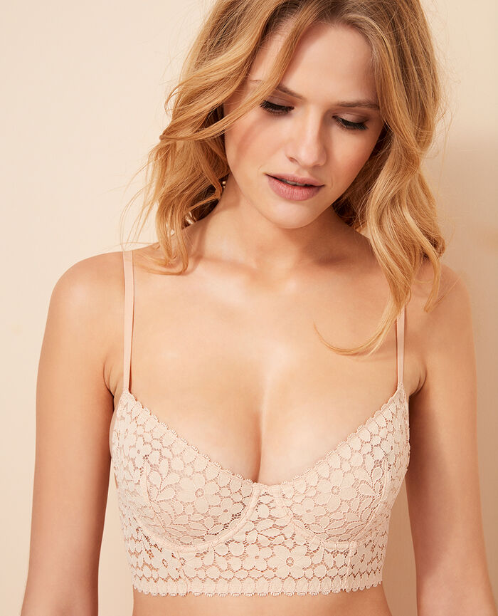 Bustier bra Powder Monica
