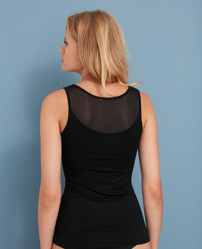 T-shirt sans manches Noir Innerwear