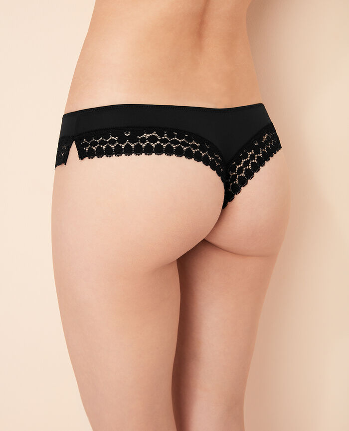 MONICA Black Tanga