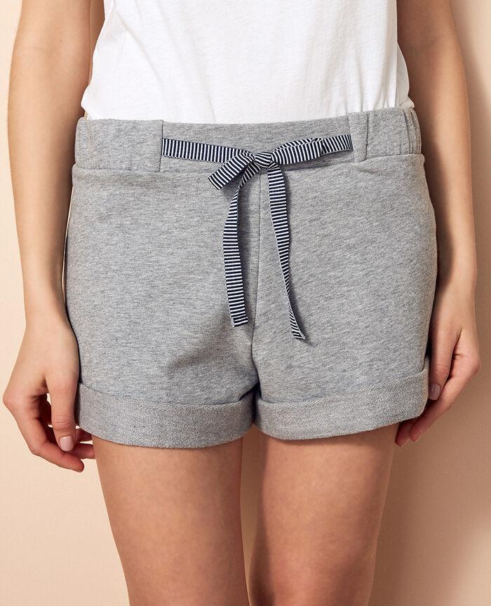 Boxer shorts Flecked grey Funny