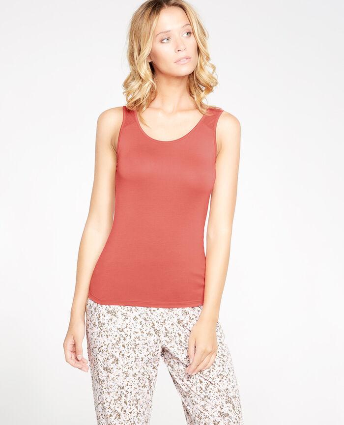 INNERWEAR Hot pink Vest top