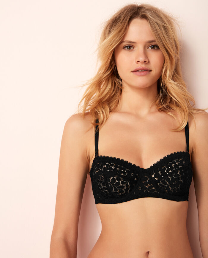 Strapless bra Black Monica