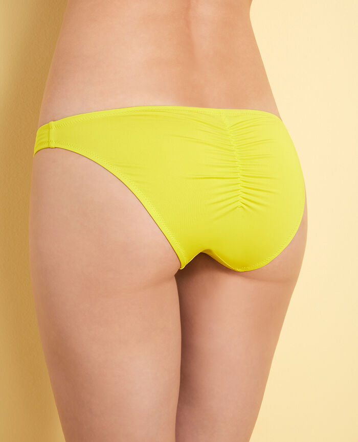 High-cut bikini briefs Sunset yellow Mix & match