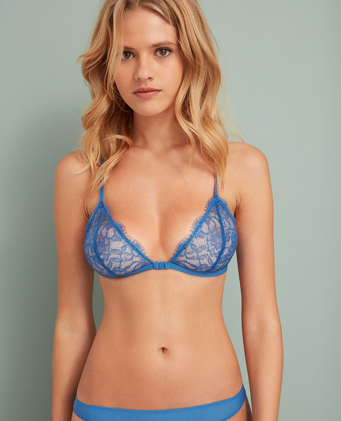 Soft cup bra River blue Taylor