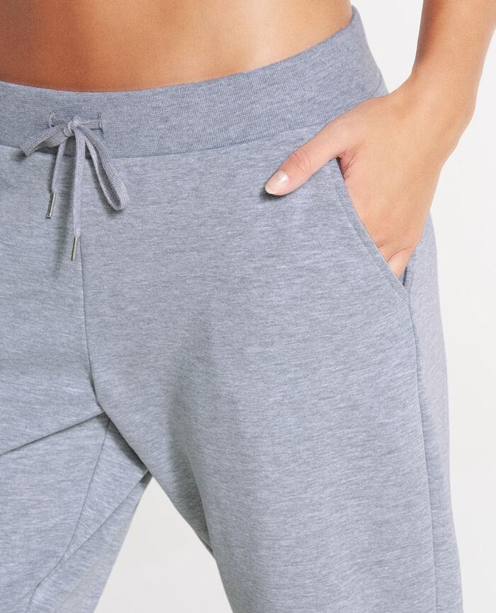 SWEAT COLLECTION Flecked grey Jogging pants