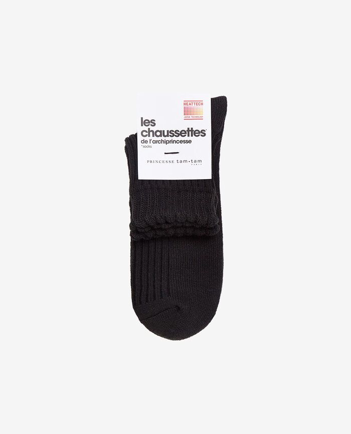 INFINITY Black Socks