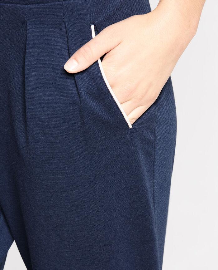 NEPTUNE Bleu abysse Pantalon carotte