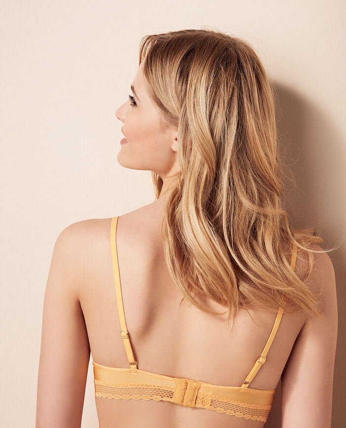 Soft cup bra Sunshine yellow Air lingerie