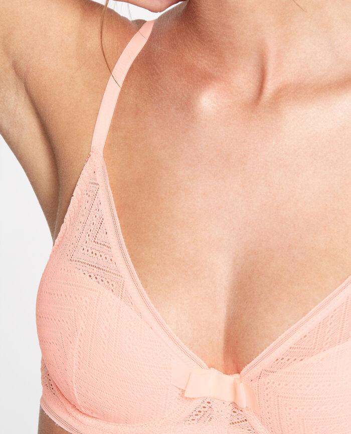 MINA Orange magic Soutien-gorge triangle mousses