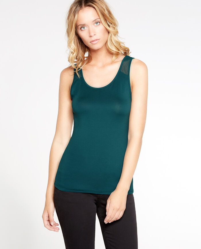 INNERWEAR Midnight green Vest top