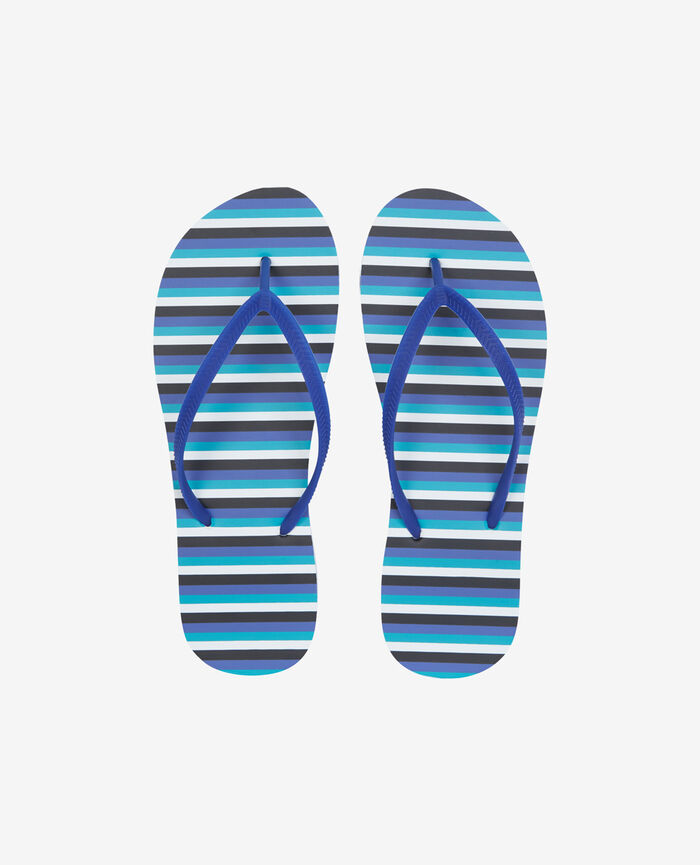 Thongs Blue stripes Princesse tam.tam x uniqlo
