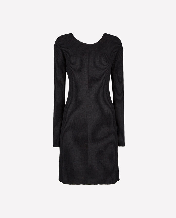 COZY Black Dress