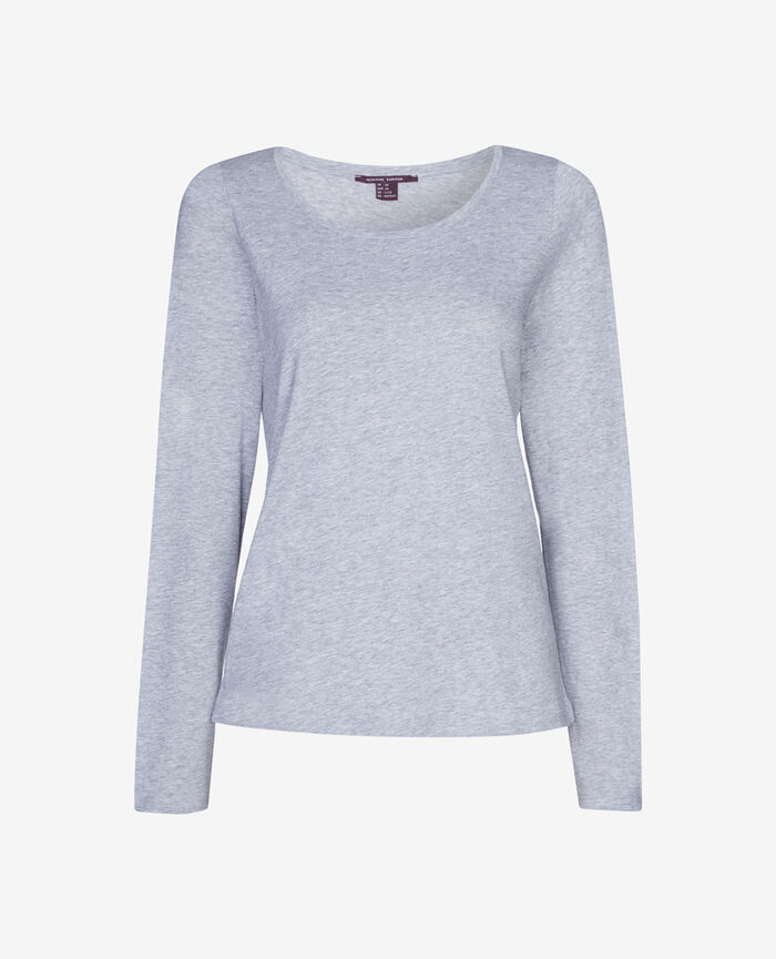 DEMY Flecked grey Long-sleeved t-shirt