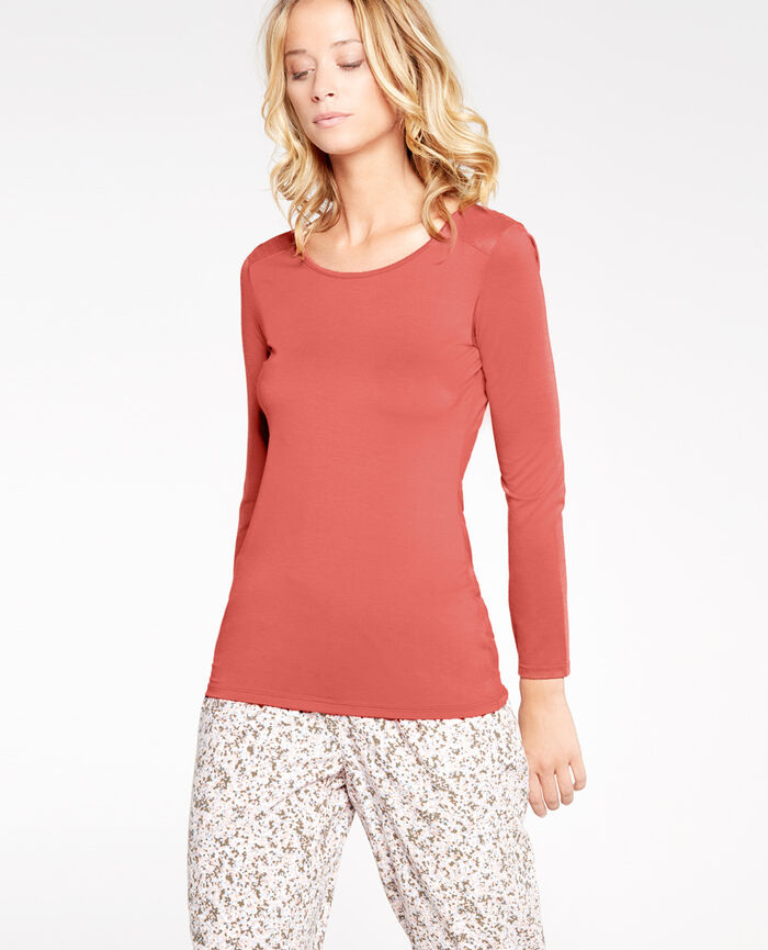 INNERWEAR Rose cuit T-shirt manches longues