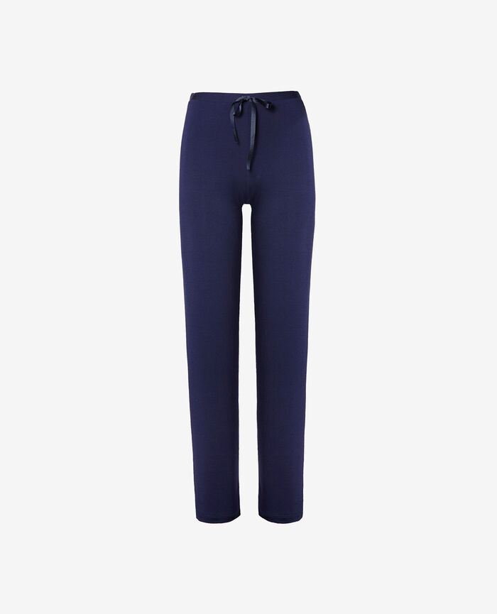 Trousers Navy Flora