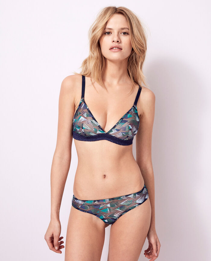 Soutien-gorge sans armatures Multicolore Artifice