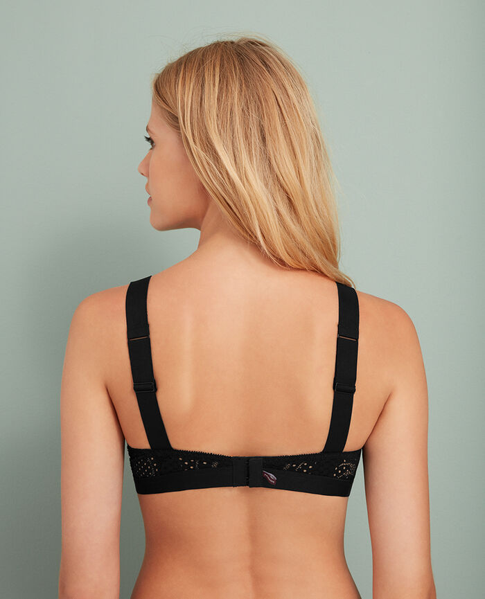 Soft cup bra Black Metropolitan